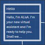ALisA virtual assistant